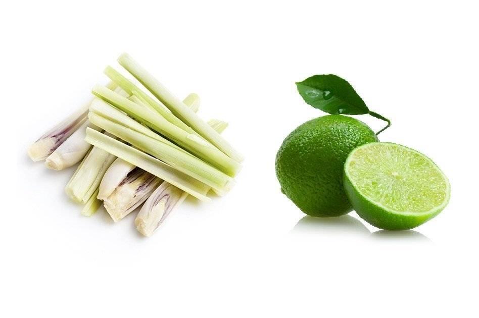 3 nguyên liệu chanh và xả trị mụn