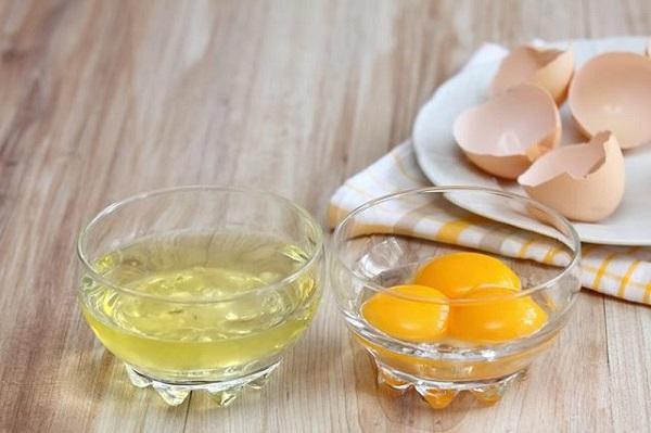 Cách trị vết thâm mụn ở mặt với lòng trắng trứng
