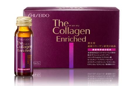 The Shiseido Collagen Enriched dạng nước uống