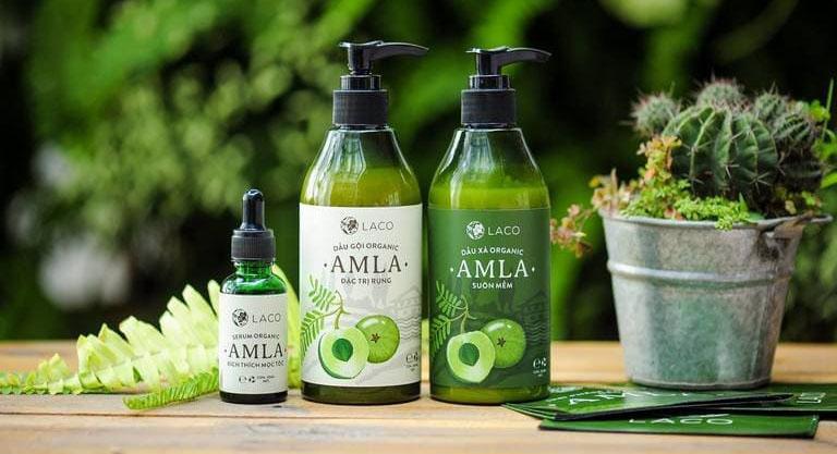 Bộ sản phẩm chăm sóc tóc Amla