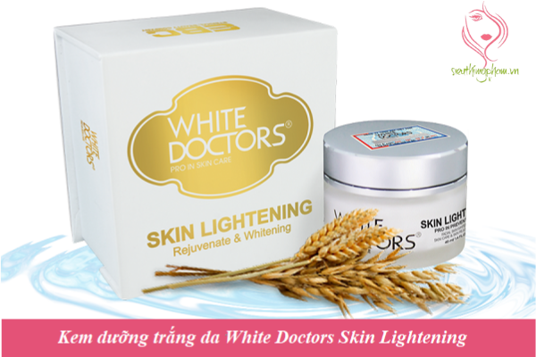 Kem dưỡng trắng da White Doctors Skin Lightening