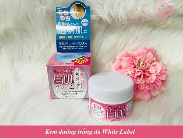 Kem dưỡng trắng da White Label