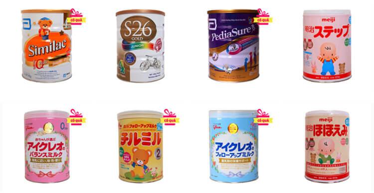 Top 5 loại sữa tốt nhất cho trẻ sơ sinh