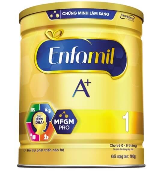 Sữa Enfamil cho trẻ từ 0-6 tháng