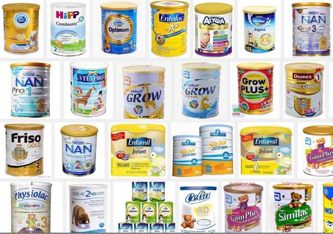 Top 10 Sữa Bột Cho Bé được tin dùng và bán chạy nhất
