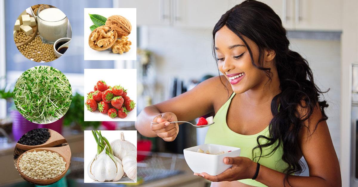 10 thực phẩm tăng cường sinh lý phụ nữ an toàn hiệu quả