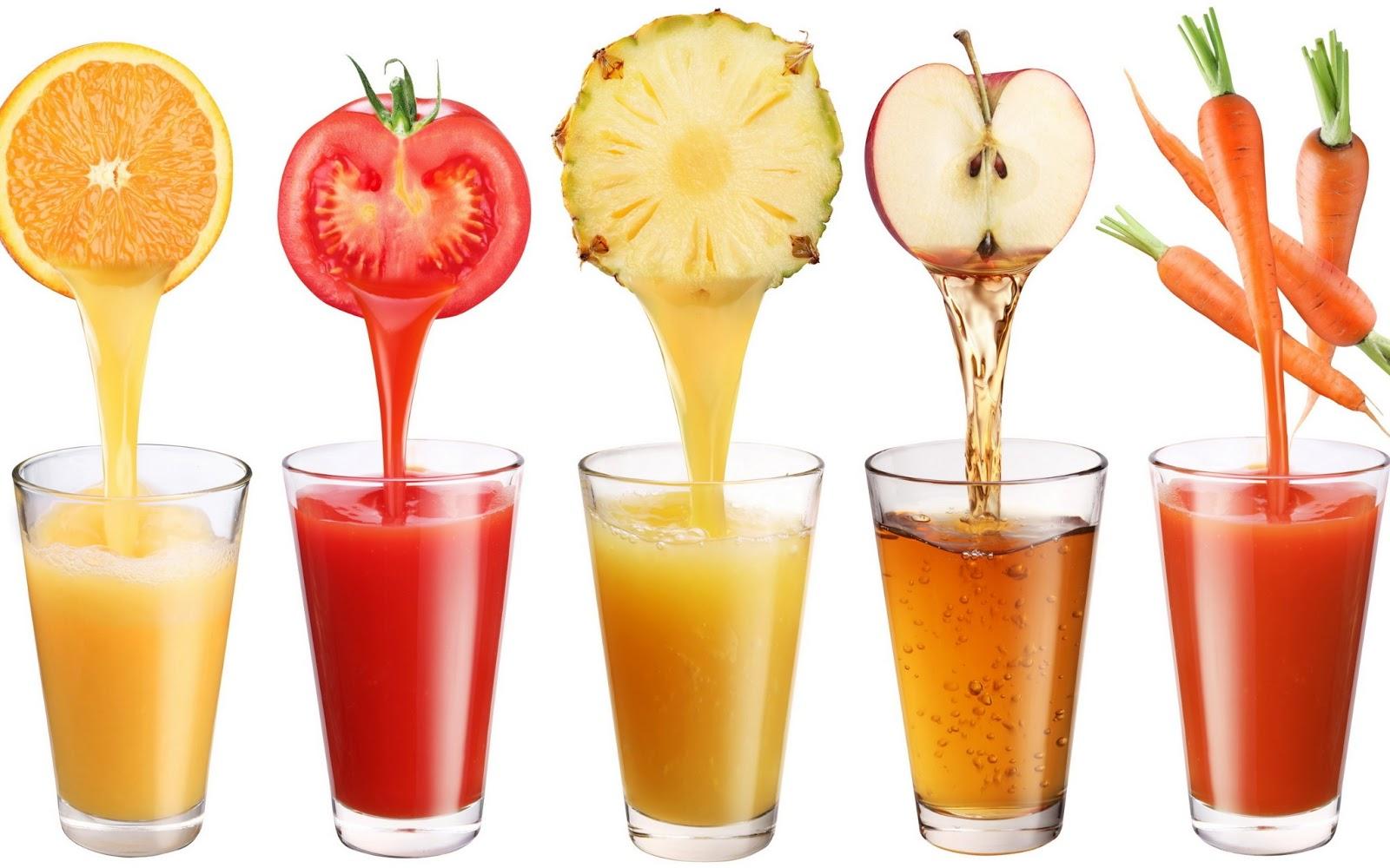 Các loại nước ép trái cây