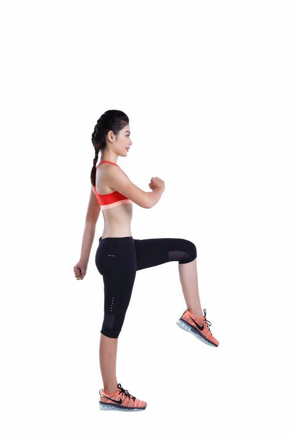Thể dục giảm cân với bài tập chạy bộ